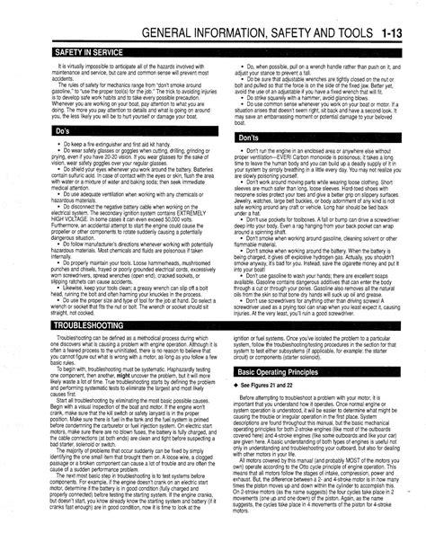 Yamaha Outboard 1991 99 Hp 2 Cyl 246cc 2 Stroke Service Shop Repair Manual
