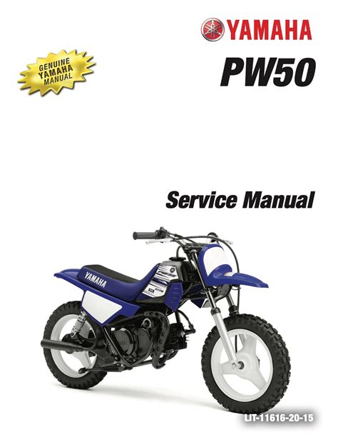 Yamaha Pw50 Motorcycle Repair Manual