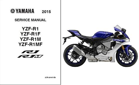 Yamaha R1 Yzf R1 Motorcycle Complete Workshop Service Repair Manual 2015 2016