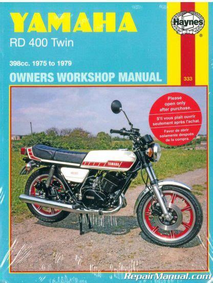 Yamaha Rd 400 Service Manual