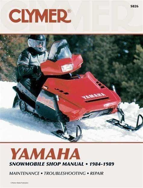 Yamaha Snowmobile Manuals 2015