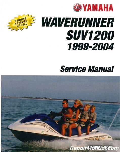 Yamaha Sv1200 Service Repair Manual 1999 Onwards