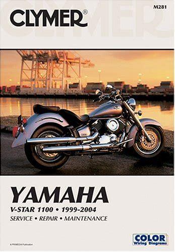 Yamaha V Star 1100 99 04 Clymer Motorcycle Repair