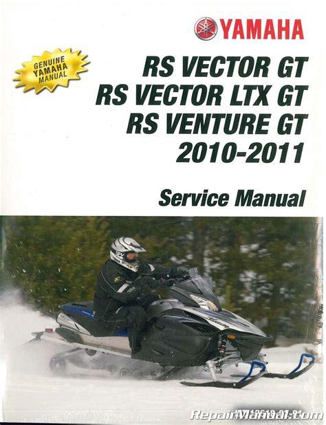 Yamaha Venture Snowmobile Manual