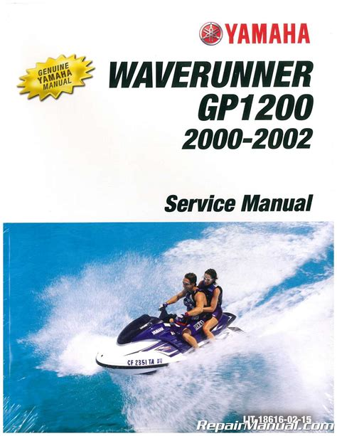 Yamaha Waverunner Owners Manual For 2002 Gp1200r