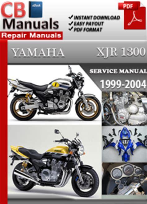 Yamaha Xjr 1300 Service Manual