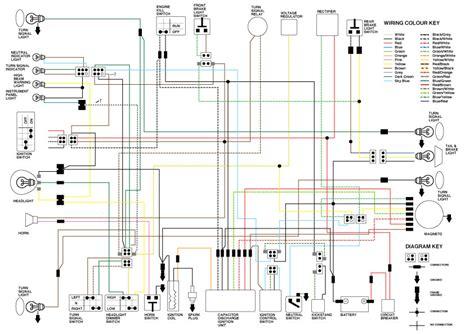 Yamaha Xt250 Wiring Diagram
