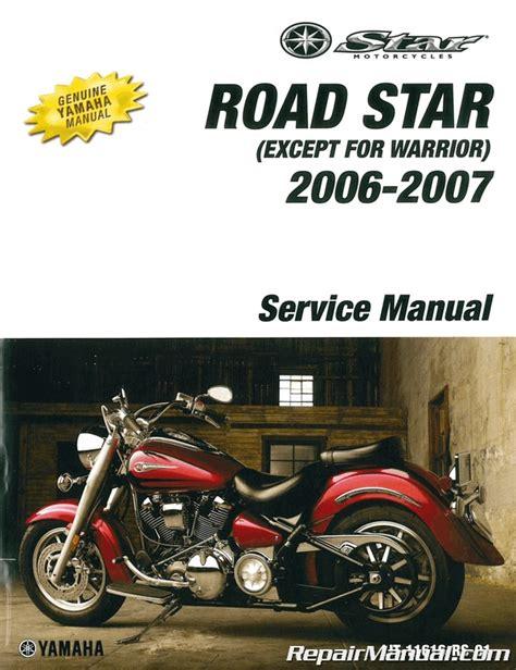 Yamaha Xv1600 Roadstar 2015 Motorcycle Repair Manual