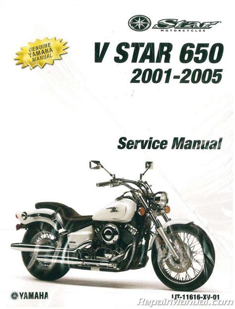 Yamaha Xvs650 1998 2005 Manual