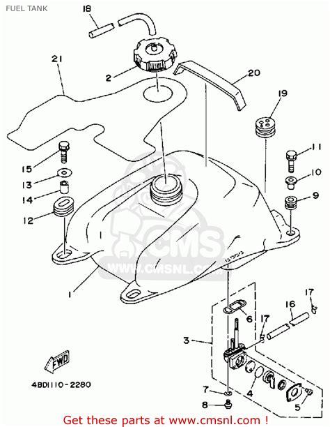 Yamaha Yfb250d Atv Replacement Parts Manual