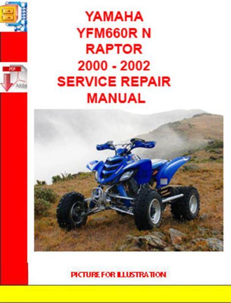 Yamaha Yfm660r Service Manual 2002