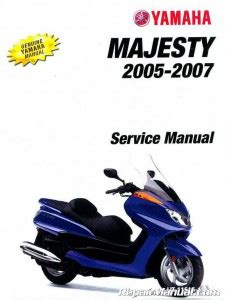 Yamaha Yp400t Yp400v Yp400w 2005 2007 Complete Workshop Repair Manual