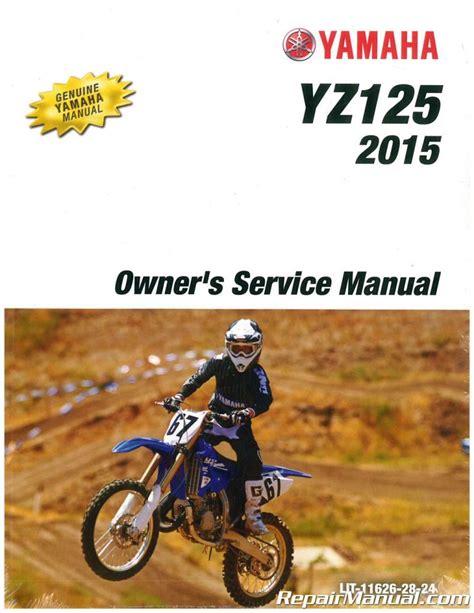 Yamaha Yz125 Multilang Full Service Repair Manual