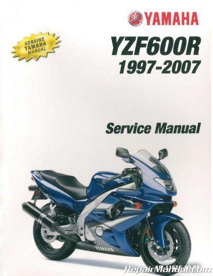 Yamaha Yzf600r Repair Manual