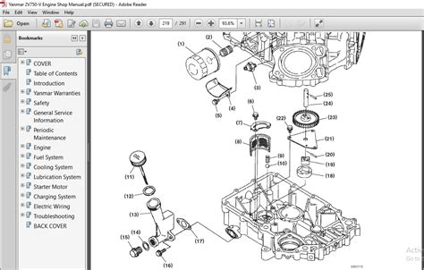 Yanmar 2v750 V Engine Full Service Repair Manual