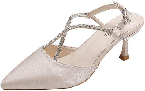 Ykang Negra Sandalias Mujeres Baotou Halbe Zapatillas 37