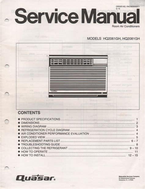 York Ac Service Manual