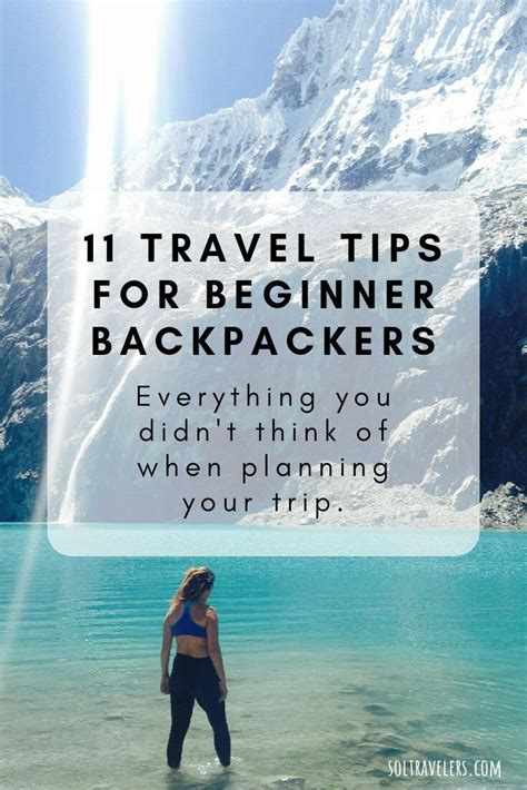 Your Handbook Guide to Planning a Backpacking Trip Abroad