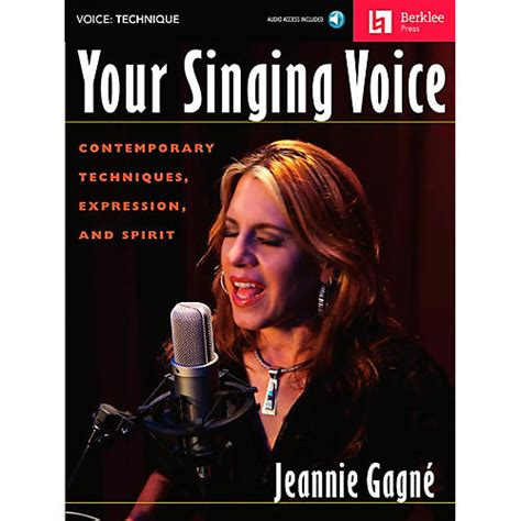 Your Singing Voice - Contemporary Techniques Expression and Spirit (Book/Cd)