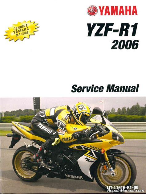 Yzf R1 Service Manual