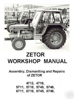 Zetor 5711 Manual