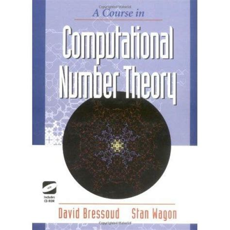 a course in computational number theory textbooks in mathematical sciences