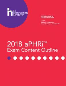 aPHRi Latest Exam Dumps