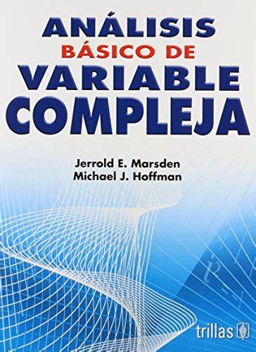 analisis de variable compleja manuales universitarios
