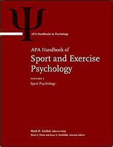 apa handbook of sport and exercise psychology vol 1 sport psychology vol 2 exercise psychology apa handbooks in psychology