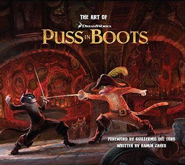 art of puss in boots art of insight editions