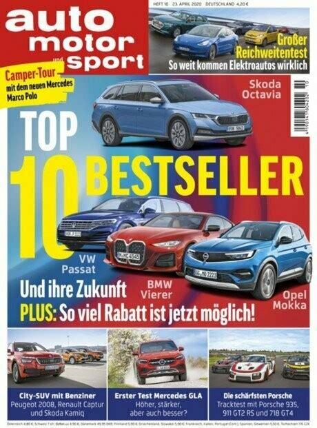 auto motor und sport 6 Hefte 1997: 1, 16, 18, 19, 21, 26