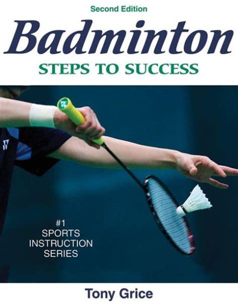 badminton steps to success