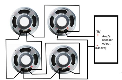 Bass Guitar Speaker Wiring Diagram