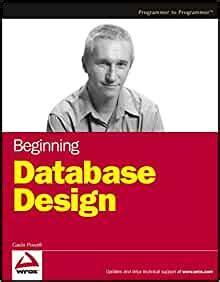 beginning database design wrox beginning guides