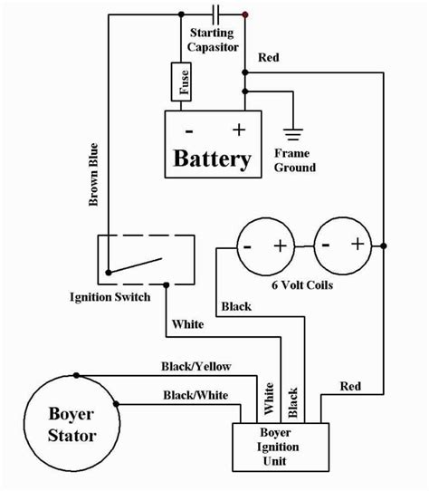 Boyer Electronic Ignition Wiring Diagrams