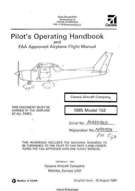 Cessna 152 Aircraft Service Manual All EBook - 924.gainax-b2b.com