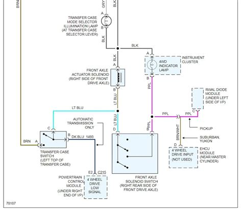 Chevy 4 Wheel Drive Wiring Diagram