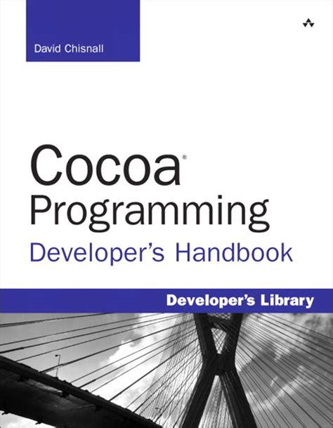 cocoa programming developer s handbook