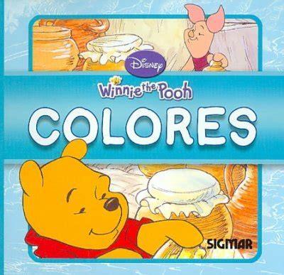 colores colors mini pooh