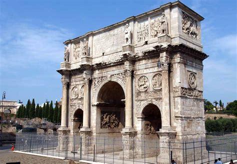 constantine s arch monumenti romani