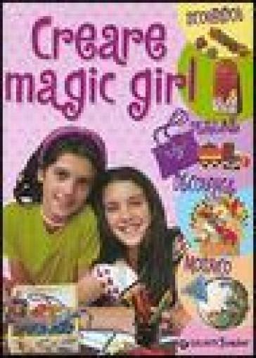 creare magic girl scoubidou perline decoupage mosaico manuabili per ragazzi