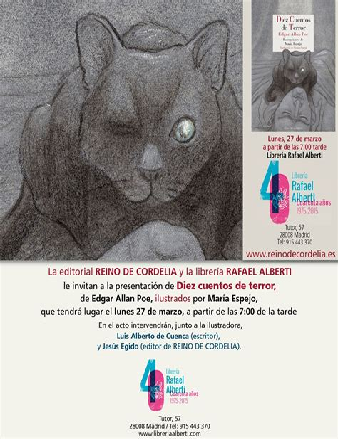 diez cuentos de terror literatura reino de cordelia