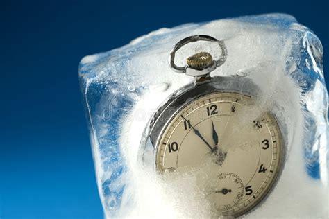 el tiempo congelado