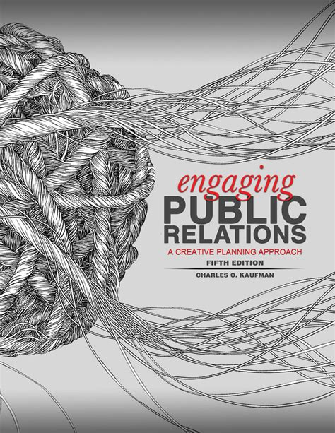 engaging public relations a creative planning approach