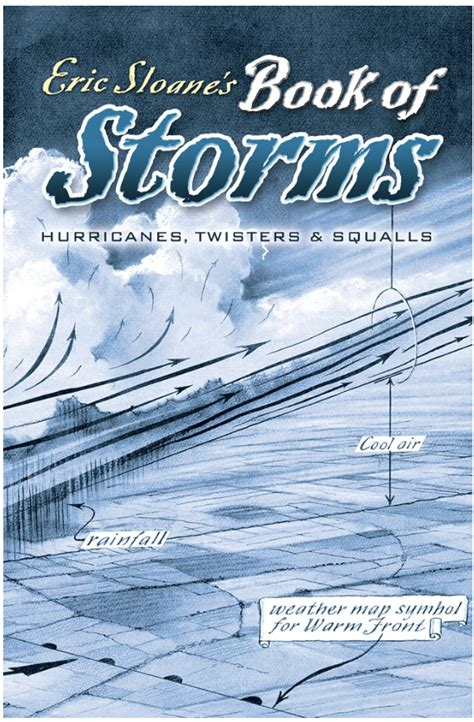 eric sloane s book of storms hurricanes twisters and squalls