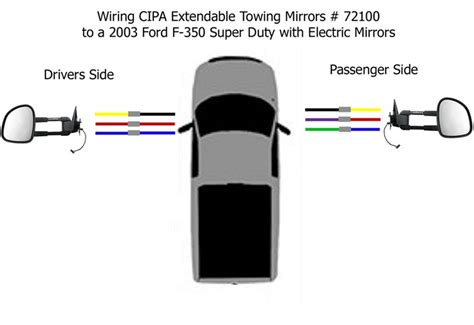 Ford Tow Mirror Wiring Diagram