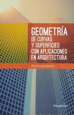 geometria de curvas y superficies con aplicaciones en arquitectura