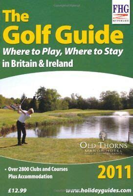 golf guide 2001 where to play where to stay farm holiday guides
