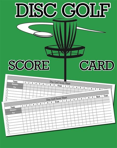 golf score keeper book mini golf book