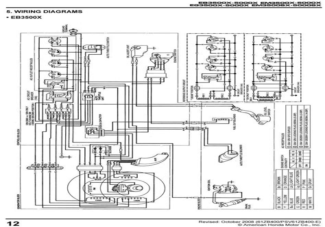 honda ex5500 wiring diagram honda ex5500 wiring diagram www balilandforsale co  honda ex5500 wiring diagram www